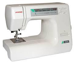 <b>JANOME 7524 A</b> электромеханическая <b>швейная машина</b>