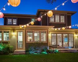 outdoor party colorful chinese lanterns string lights patio lighting globe bulbs backyard string lighting