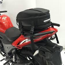 USA 21L <b>Motorcycle</b> Back <b>Seat Bag Motorbike</b> Scooter Luggage Tail ...