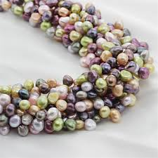 Aliexpress.com : Buy SNH <b>5strands</b> /pack 7 8mm <b>AA Baroque</b> ...