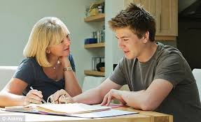 Parents      unable to understand their teenage children     s homework     Parents are often called upon to help their children with homework  but a new survey