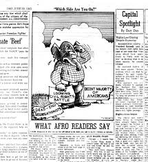 television news and the civil rights struggle the views in richmond afro american 22 1963 richmond afro american cartoonist t