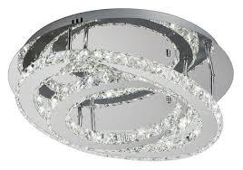 <b>Люстра</b> светодиодная Eurosvet Grasia 90066/2 хром, <b>LED</b>, <b>24 Вт</b> ...