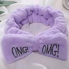 <b>Повязка для волос</b> OMG <b>MEGA</b> HAIR BAND / цвет сиреневый ...