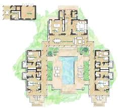 Architecture  Captivating Hacienda Style Home Plans  Hacienda    Amusing Hacienda Style Home Plans With Courtyards Full Version