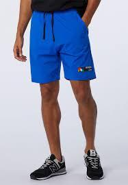 Nb <b>sport style optiks short</b> - blue New Balance Sweatpants & Shorts ...