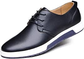 Santimon Men's Casual Oxford Shoes Breathable ... - Amazon.com