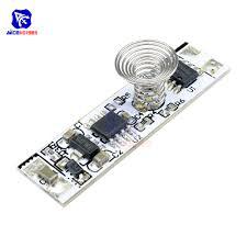 <b>9V 24V 30W</b> 3A <b>Touch Switch</b> Capacitive <b>Sensor</b> Module LED ...