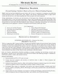 example personal trainer resume  seangarrette coexample personal trainer resume resume template sample   bartending relevant training program   certification for barback