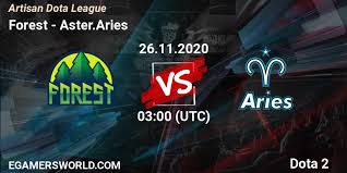 <b>Forest</b> - Aster.Aries: 26.11.20. <b>Dota 2</b>, смотреть матч онлайн ...