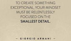 the difference between something good and something great is  the difference between something good and something great is attention to detail ca manoj dembla linkedin