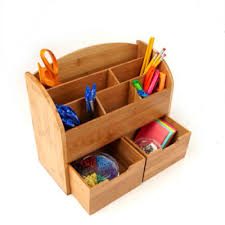 Mind Reader 6-Compartment with 2 Drawers, <b>Eco</b>-<b>Friendly Desk</b> ...