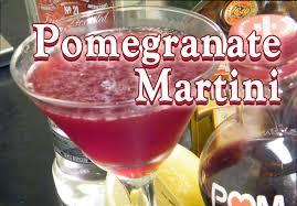Martini Recipes Vodka Pomegranate Martini Recipe Pomegranate Drink Recipes Thefndc