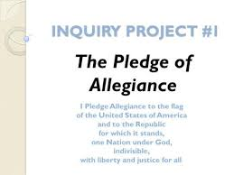 Why We Pledge  History of the Pledge Written in      by Francis     SlidePlayer