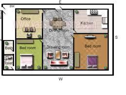 Vastu Model Floor Plans for North DirectionModel Floor Plan for North Direction