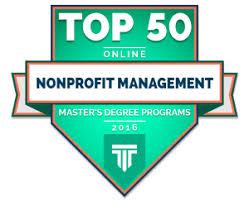 TOP    ONLINE NONPROFIT MANAGEMENT MASTER     S DEGREE PROGRAMS