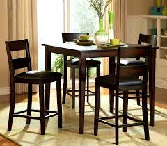 4 Piece Dining Room Sets Furniture Splendid Tall Dining Room Table Black Sets Round