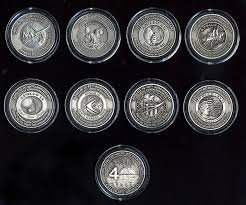 Apollo Medallion COMPLETE <b>SET ALL 8</b>! Medallion Collectors <b>Set</b> ...