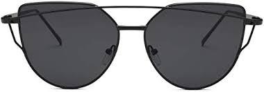 Livhò Sunglasses for Women, Cat Eye Half ... - Amazon.com