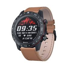 Smart Watch <b>Round Touch Screen</b> Dial Bluetooth 5.0 Heart Rate ...