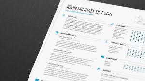 resume abduzeedo resume templates
