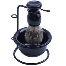 Инструмент для бритья щетка для волос + бритва <b>стальной</b> ...