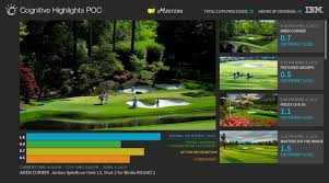 masters highlights getting artificial intelligence treatment via this interface displays watson s assessment of specific shots in specific locations of a national and their