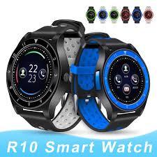 New <b>Smart Watch R10</b> Bluetooth <b>Smart Watches</b> SIM Card Camera ...