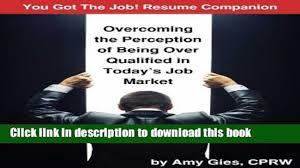 pdf you got the job resume companion overcoming the perception 00 29