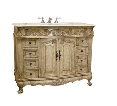 traditional style antique white bathroom: adelina  inch traditional antique bathroom vanity