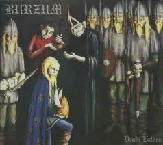 Burzum-Daudi Baldrs | Black metal, Metal albums, Music album covers