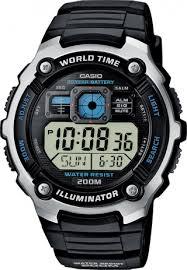 Мужские <b>часы Casio AE</b>-<b>2000W</b>-<b>1A</b> (Япония, кварцевый механизм ...