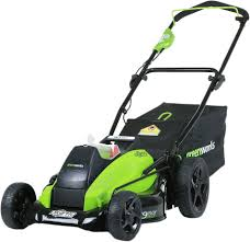 <b>Газонокосилка аккумуляторная Greenworks GD40LM45K4</b> купить ...