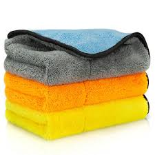 <b>3pcs Car Cleaning</b> Towel Washing <b>Cloth Rag</b> Dry Microfiber Ultra ...