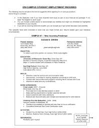 cover letter example of resume objectives example of resume general resume example