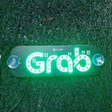 MJJC <b>12V</b> GRAB <b>Taxi</b> UBER LIBER LYFT LED Advertising Sign ...