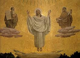 Image result for jesus transfigured