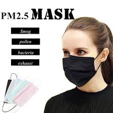 <b>50pcs</b>/pack <b>Disposable</b> Face Mask <b>Non Woven</b> Medical dental ...