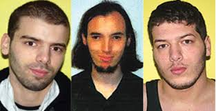 Lamine Adam, Cerie Bullivant and Ibrahim Adam, who have absconded from control orders imposed on them under terrorism laws. Photograph: Metropolitan police/ ... - men372