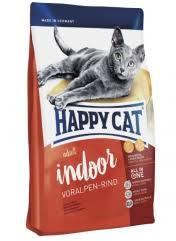 <b>Сухой корм</b> для кошек живущих в помещениях <b>Happy Cat</b> ...