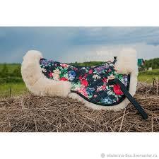 <b>Седла</b>: <b>меховушка</b> под <b>седло</b> из овчины – купить на Ярмарке ...
