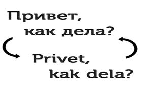 Транслитерация с <b>русского</b> на <b>английский</b> язык