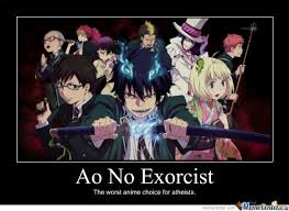 Ao No Exorcist <3 by derpina-chan - Meme Center via Relatably.com