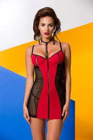 Красная женская <b>сорочка</b> ночнушка <b>Avanua</b> Coline Chemise ...