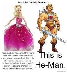 Feminist Double Standard   WeKnowMemes via Relatably.com