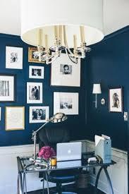 fabulous indigo walls httpwwwstylemeprettycomliving blue office walls