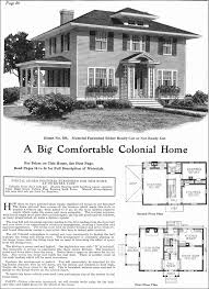 Van  Colonial and Kit homes on Pinterest Classic Colonial Revival   Gordon Van Tine Kit Homes   Model No