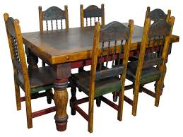 Country Style Dining Room Tables Mexican Dining Room Mexican Themed Restaurant Mexican Theme