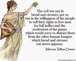 "Illuminated Slave on Twitter: ""Bread and Circuses ~ Marcus Tullius ... via Relatably.com"