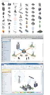 how to draw a computer network diagramsnetwork diagramming software  design elements   computer and network  windows  macintosh
